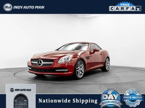 2013 Mercedes-Benz SLK for sale at INDY AUTO MAN in Indianapolis IN