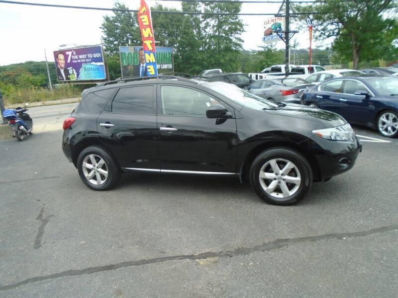 2010 Nissan Murano for sale at Gemini Auto Sales in Providence RI