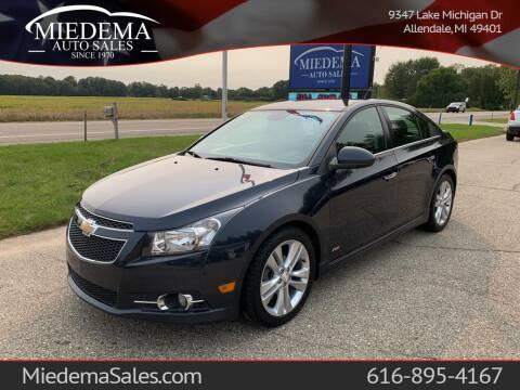 2014 Chevrolet Cruze for sale at Miedema Auto Sales in Allendale MI