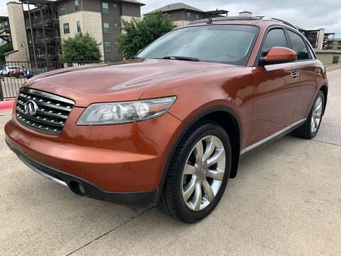 2006 Infiniti FX35 for sale at Zoom ATX in Austin TX