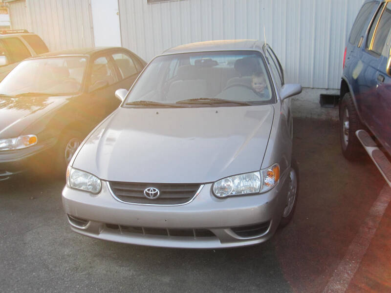 2001 Toyota Corolla for sale at All About Cars in Marysville-Washington State WA
