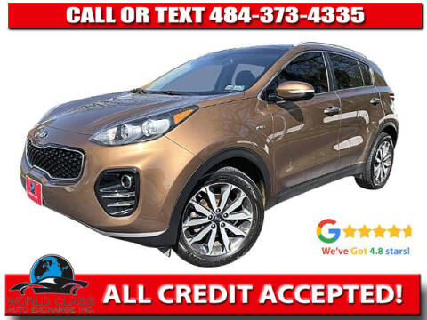 2017 Kia Sportage for sale at World Class Auto Exchange in Lansdowne PA