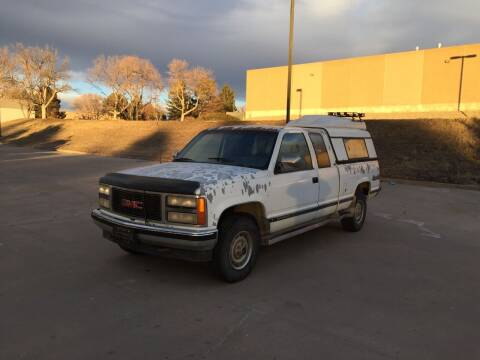 1990 GMC Sierra 2500 for sale at QUEST MOTORS in Englewood CO
