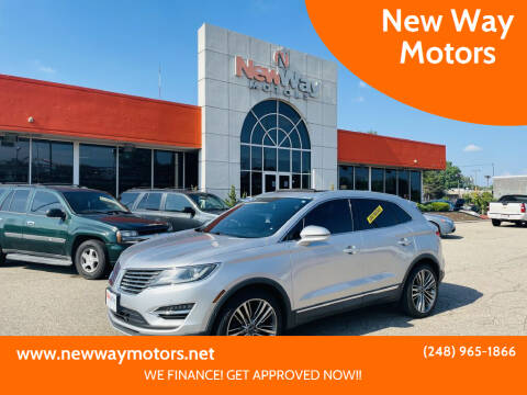 2015 Lincoln MKC for sale at New Way Motors in Ferndale MI