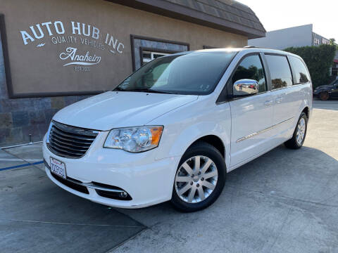 2012 Chrysler Town and Country for sale at Auto Hub, Inc. in Anaheim CA