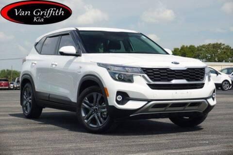 2021 Kia Seltos for sale at Van Griffith Kia Granbury in Granbury TX