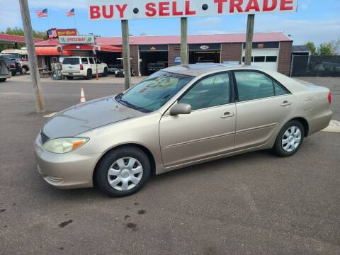 2002 Toyota Camry for sale at Rum River Auto Sales in Cambridge MN