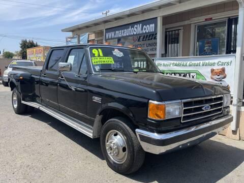 1991 Ford F-350 for sale at Max Auto Sales in Santa Maria CA