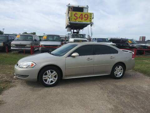 2012 Chevrolet Impala for sale at USA Auto Sales in Dallas TX
