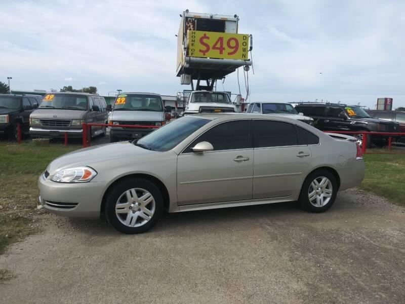 2012 Chevrolet Impala for sale at USA Auto Sales in Dallas TX