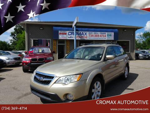 2008 Subaru Outback for sale at Cromax Automotive in Ann Arbor MI