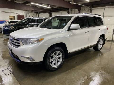 2012 Toyota Highlander for sale at Sonias Auto Sales in Worcester MA