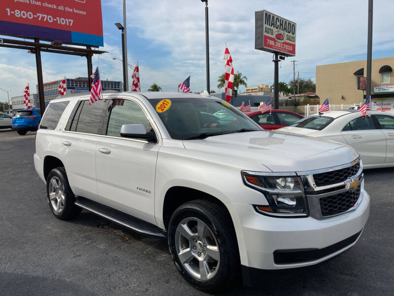 2017 Chevrolet Tahoe for sale at MACHADO AUTO SALES in Miami FL