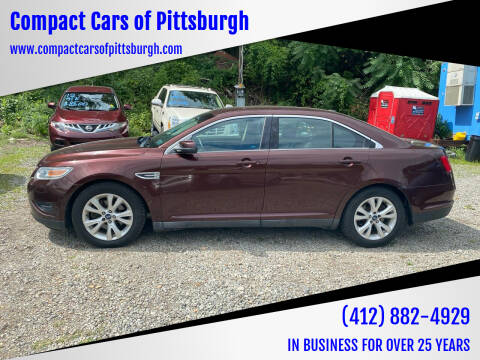 2012 Ford Taurus for sale at Compact Cars of Pittsburgh in Pittsburgh PA