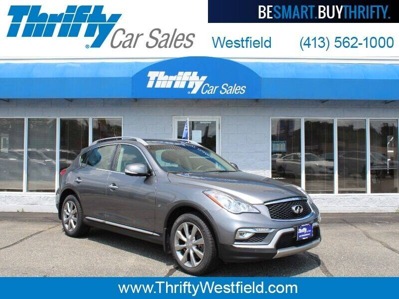 2017 Infiniti QX50 for sale at Thrifty Car Sales Westfield in Westfield MA