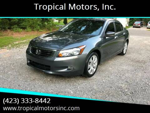 2009 Honda Accord for sale at Tropical Motors, Inc. in Riceville TN