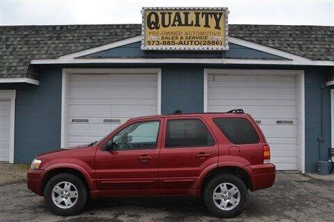 2007 Ford Escape for sale at Quality Pre-Owned Automotive in Cuba MO