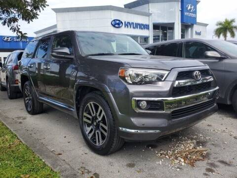 2018 Toyota 4Runner for sale at DORAL HYUNDAI in Doral FL