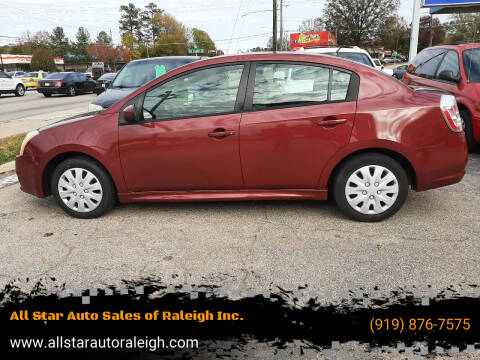 2008 Nissan Sentra for sale at All Star Auto Sales of Raleigh Inc. in Raleigh NC