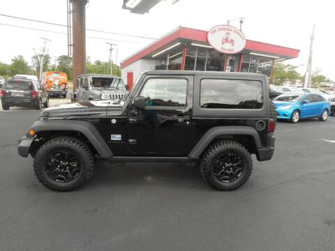 2017 Jeep Wrangler for sale at The Carriage Company in Lancaster OH