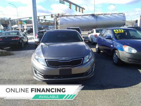 2013 Kia Optima for sale at Marino's Auto Sales in Laurel DE