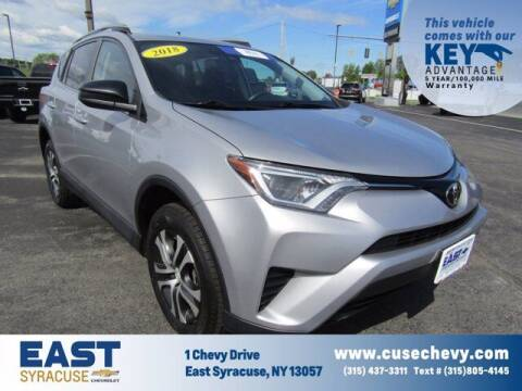 2018 Toyota RAV4 for sale at East Syracuse Performance Sales & Service in Syracuse NY