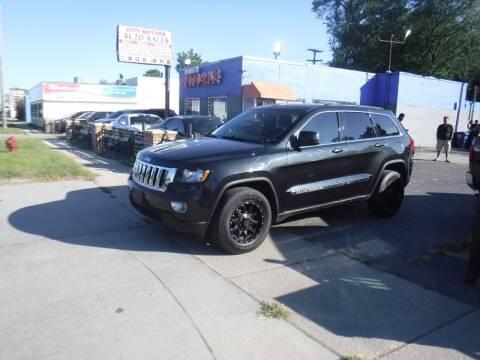 2012 Jeep Grand Cherokee for sale at City Motors Auto Sale LLC in Redford MI