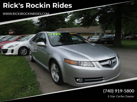2008 Acura TL for sale at Rick's Rockin Rides in Reynoldsburg OH