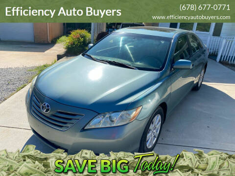 2007 Toyota Camry for sale at Efficiency Auto Buyers in Milton GA