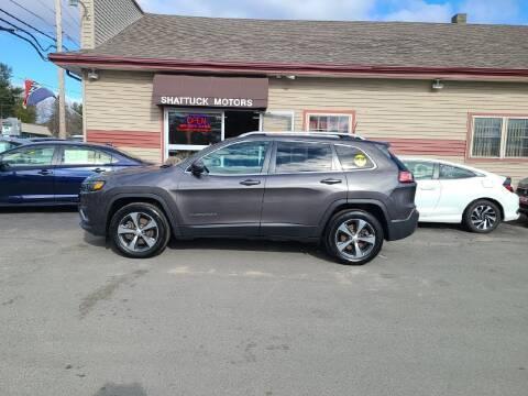 2019 Jeep Cherokee for sale at Shattuck Motors in Newport VT