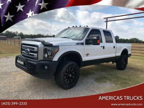 2015 Ford F-250 Super Duty for sale at Americas Trucks in Jones OK