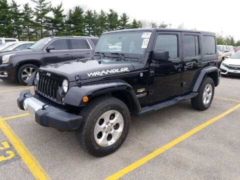2015 Jeep Wrangler Unlimited for sale at SHAFER AUTO GROUP in Columbus OH