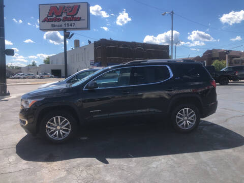 2018 GMC Acadia for sale at N & J Auto Sales in Warsaw IN