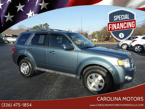 2012 Ford Escape for sale at CAROLINA MOTORS in Thomasville NC