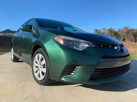 2015 Toyota Corolla for sale at El Camino Auto Sales in Sugar Hill GA
