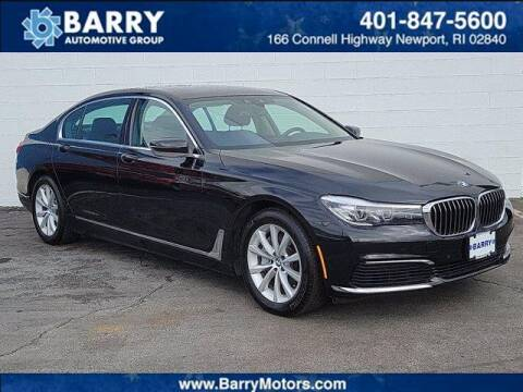 2019 BMW 7 Series for sale at BARRYS Auto Group Inc in Newport RI