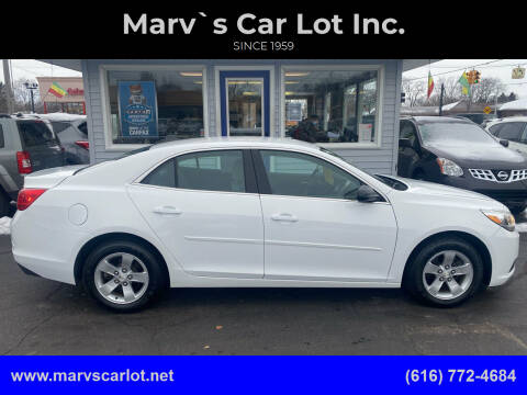 2013 Chevrolet Malibu for sale at Marv`s Car Lot Inc. in Zeeland MI