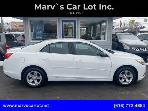 2013 Chevrolet Malibu for sale at Marv`s Car Lot Inc. in Zeeland MI