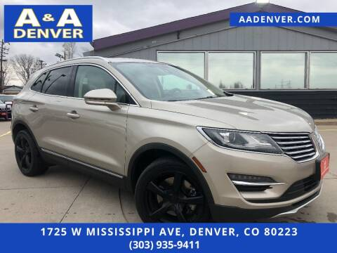2015 Lincoln MKC for sale at A & A AUTO LLC in Denver CO