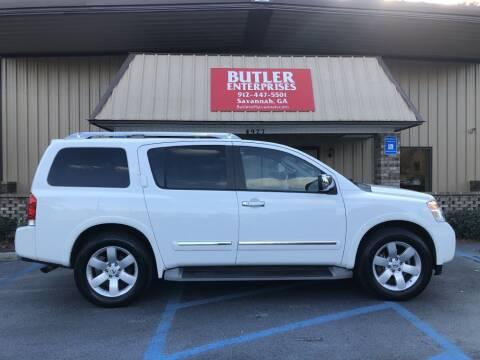 2010 Nissan Armada for sale at Butler Enterprises in Savannah GA