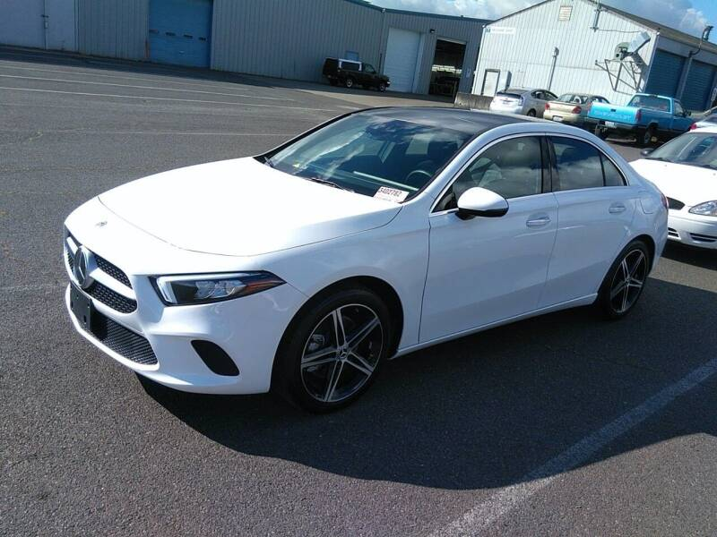 2019 Mercedes-Benz A-Class for sale at SILVER ARROW AUTO SALES CORPORATION in Newark NJ