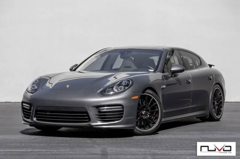 2014 Porsche Panamera for sale at Nuvo Trade in Newport Beach CA