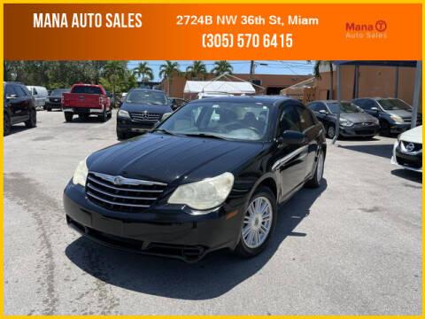 2007 Chrysler Sebring for sale at MANA AUTO SALES in Miami FL