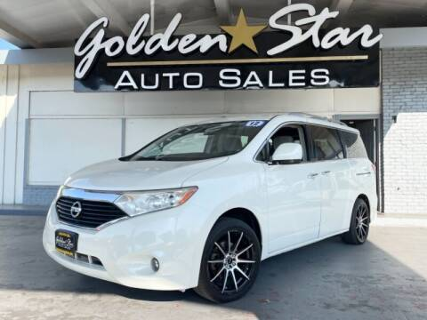 2012 Nissan Quest for sale at Golden Star Auto Sales in Sacramento CA
