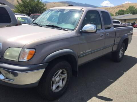 2002 Toyota Tundra for sale at Small Car Motors in Carson City NV