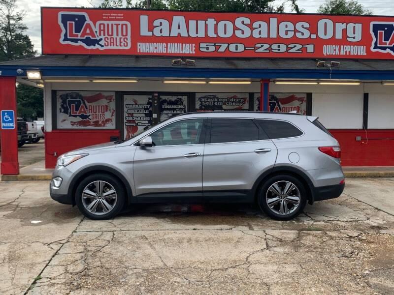 2016 Hyundai Santa Fe for sale at LA Auto Sales in Monroe LA