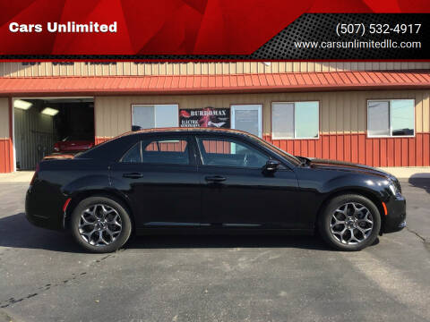 2018 Chrysler 300 for sale at Cars Unlimited in Marshall MN