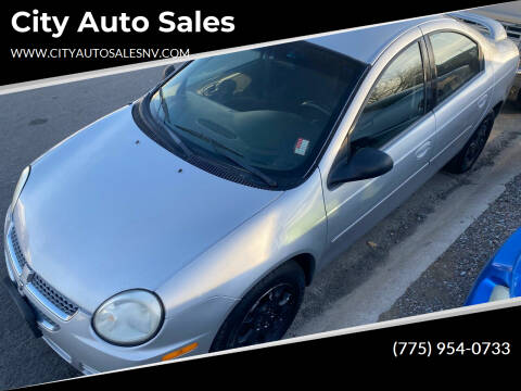 2005 Dodge Neon for sale at City Auto Sales in Sparks NV