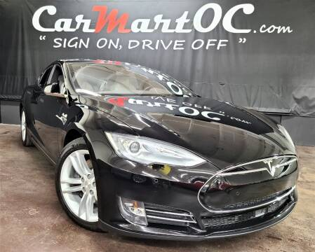 2016 Tesla Model S for sale at CarMart OC in Costa Mesa, Orange County CA