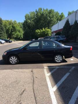 2003 Honda Civic for sale at Specialty Auto Wholesalers Inc in Eden Prairie MN